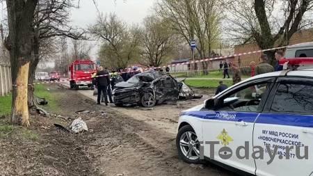 Разбившиеся в ДТП в Новочеркасске подростки были пьяны, сообщил источник - 19.04.2021