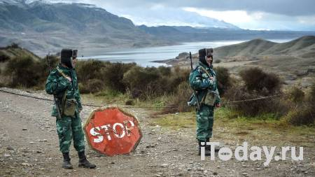 На границе Азербайджана и Ирана произошла стрельба