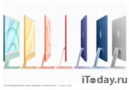 Представлен iMac с тонким дисплеем и чипом Apple Silicon