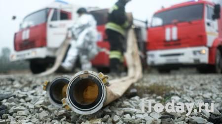 В промзоне в Ленинградской области загорелся строительный мусор - 21.04.2021