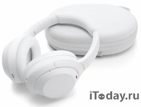 Sony анонсировала новую лимитированную серию наушников WH-1000XM4 Silent White