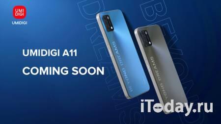UMIDIGI представила новый логотип и объявила о скором выходе очередного бюджетного смартфона A11
