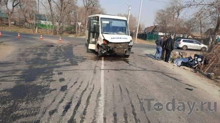 В Приморье мотоциклист погиб в ДТП с пассажирским автобусом - 22.04.2021
