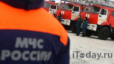На Нахимовском проспекте в Москве обрушились строительные леса - 25.04.2021