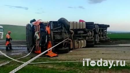 Водитель грузовика рассказал, как произошло ДТП на Ставрополье - 01.05.2021