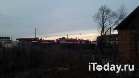 В Омской области ликвидировали пожар, спаливший дотла полдеревни - 07.05.2021