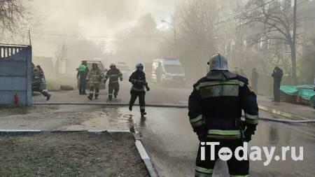 В Мытищах полностью ликвидировали пожар в частном автосервисе - 08.05.2021