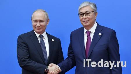 Путин обсудил с Токаевым борьбу с коронавирусом - 08.05.2021