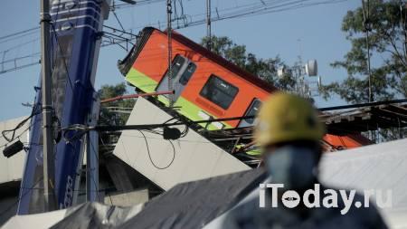 Увеличилось число погибших при обрушении метромоста в Мехико