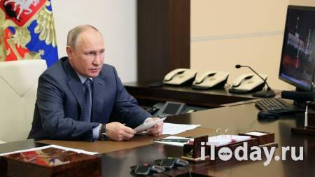Путин на встрече с Совбезом попросил доложить о ситуации на Украине - 14.05.2021