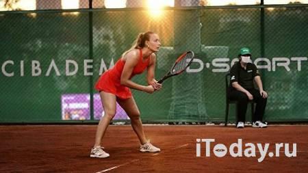 Задержанную в Париже российскую теннисистку освободили из-под стражи - Спорт 04.06.2021