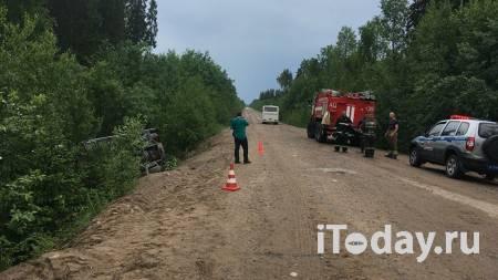 Дети из перевернувшегося в Ленинградской области автобуса не пострадали - 13.06.2021