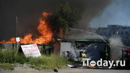 К тушению пожара на АЗС в Новосибирске привлекли более 60 человек - 14.06.2021