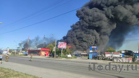 Число пострадавших при пожаре на АЗС в Новосибирске выросло до 16 - 14.06.2021