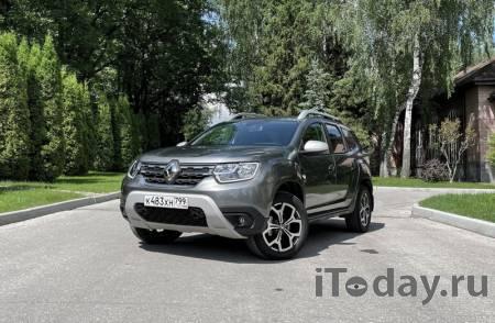 Новый Renault Duster с вариатором