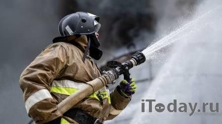 В Москве локализовали пожар на складе - 24.06.2021