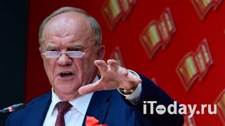 Зюганов ответил на предложение Прилепина о коалиции