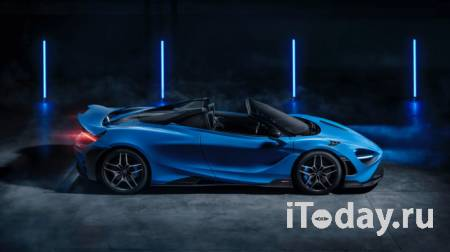 McLaren 765LT Spider: Крышу сносит за 11 секунд