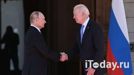 Телефонного разговора между Путиным и Байденом пока не планируется - 22.07.2021