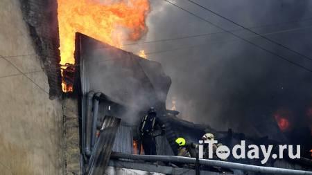 При пожаре в центре Петербурга пострадал человек - 25.07.2021