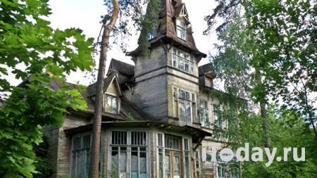 Под Петербургом частично обрушилась историческая дача Кривдиной - 31.07.2021