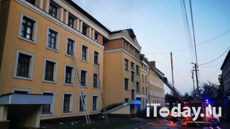 В Нижнем Новгороде ликвидировали пожар в общежитии - 01.08.2021
