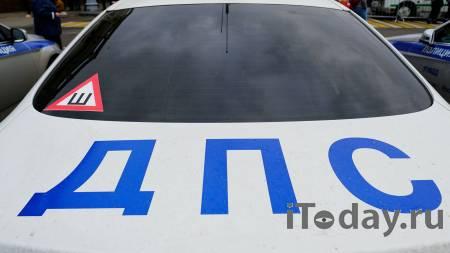 В Пермском крае в автомобиль ДПС прилетело оторвавшееся колесо КамАЗа - 03.08.2021