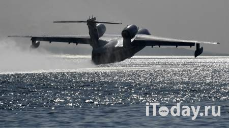 Ростех опроверг сообщения о повреждении Бе-200 на пожарах в Греции - 04.08.2021