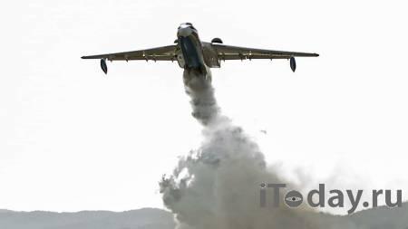 В Мордовию вылетел Бе-200 для тушения природного пожара - 05.08.2021
