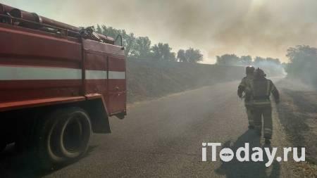 На месте пожара в Оренбуржье зафиксировали превышение ПДК вредных веществ - 28.08.2021