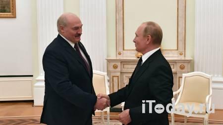 Путин усмехнулся после слов Лукашенко о поглощении Белоруссии - 09.09.2021