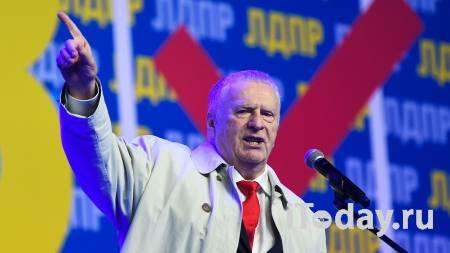 В ЛДПР прокомментировали инцидент с брюками Жириновского на дебатах - 14.09.2021