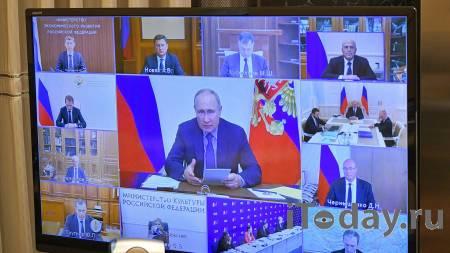 В ЕР объяснили, почему участвовали в совещании Путина с правительством - 14.09.2021