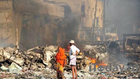 В столице Сомали прогремел взрыв, есть жертвы