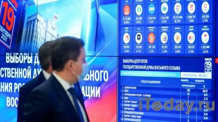 В Госдуму проходят представители восьми партий - 21.09.2021