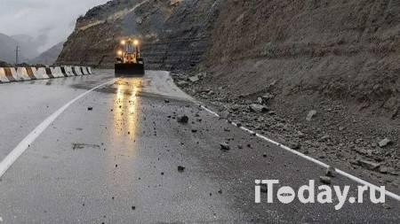 Ливни разрушили дороги в нескольких районах Дагестана - 24.09.2021