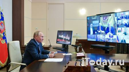 Путин: Володин достоин того, чтобы возглавить Госдуму восьмого созыва