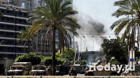 Боевики в Бейруте обстреляли из гранатомета здание, где укрылись журналисты