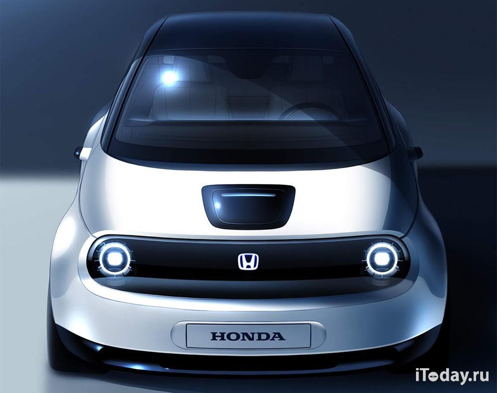 В Женеве представят новую модель от Honda