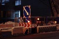 Новое явление— из дорожных знаков воруют аккумуляторы