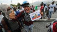 Жители Гаити выступили против США и призвали на помощь Россию