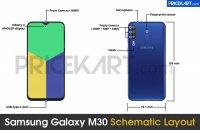 Раскрыт внешний вид и характеристики нового смартфона Samsung M30